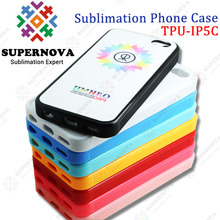China Wholesale Custom Printed Silicon Cover for iphone5c