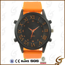 2015 New arrival breath of youth watch, bright color strap silicone watch