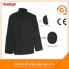 China manufacturer custom made double-breasted buttons chef coat