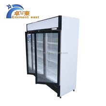LC-780 Vertical 3 Door Showcase Refriger/grocery refrigeration equipment upright beverage cooler/convenience store chiller