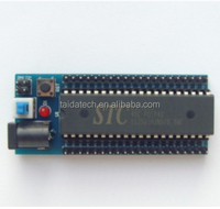 51 single-chip microcomputer STC SCM development board core plate minimum