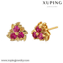 Best selling 24k gold color cheap chinese earring