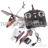 New & Improved WL V911 4 CH Single Rotor Helicopter Version 2 Red / White by WE-R-KIDS(252905)