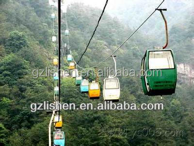 Transparent plastic polycarbonate PC windshield for cable car