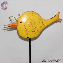 animal metal garden art of garden decorative metal birds
