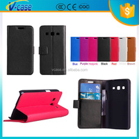 VCASE Hot sale Classic Style Magnetic Flip PU Leather Cover Case For Samsung Galaxy Express 2 G3815