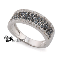 Mirco Pave Rhinestone Rings For Women,Solid Silver Rings Wholesale Price 2014 New Arrival