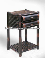 VINH LONG DARK BROWN BAMBOO CABINET