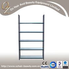 Hair Salon Display Stand Free Standing Shelves