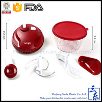 Custom Made best selling kitchen gadgets plastic food processor