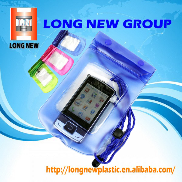 2017 New Products Custom PVC Waterproof Mobile Phone Bag