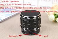 High Quality New Arrive Metal Case Mini Protable Bluetooth Speaker Wireless Speaker With Fm Radio