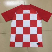Custom Croatia / Brazil Soccer Jersey National Team Dry Fit Soccer Jersey from China Manufacturer