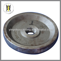 OEM sand casting iron counter weight