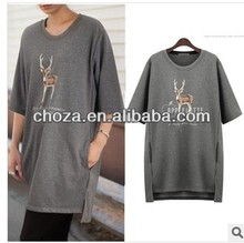 C60754A WINTER KOREAN STYLE FOR WOMEN'S SHORT SLEEVE DRESS