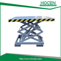 2014 Hot Sale High Quality scissor car lift table
