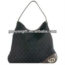 hot Lady Canvas with leather Hobo Handbag