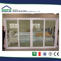 Best quality UPVC four panels cold room sliding door