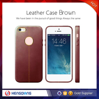 Cheap high quality PU leather case for iphone 6 plus case
