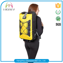 Customized logo best waterproof backpack dry bag for biking hiking camping