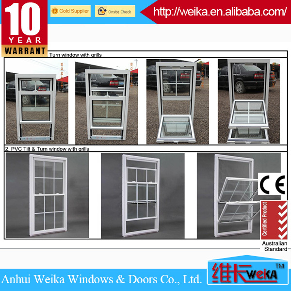 2014 high quality bottom hung window