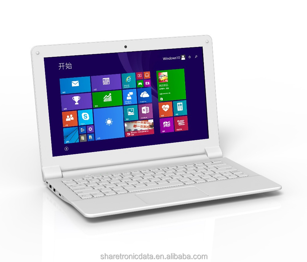Newest intel quad core mini laptop with 2 micro USB port