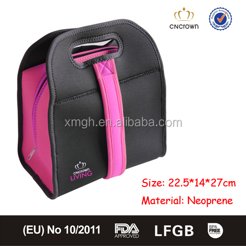 fashion neoprene lunch cooler bag for bento box from xiamen china buy lunch cooler bag lunch. Black Bedroom Furniture Sets. Home Design Ideas