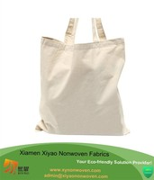 Cotton Lightweight Economy Tote Bags Natural White, No Gusset