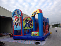 Funny Inflatable Commercial Inflatable Jumping Bouncer Slide&Inflatable Combo