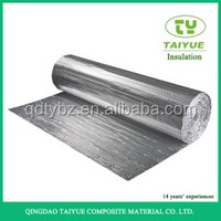 6mm Thickness smooth surface Metalized Bubble Foil Wrap Building Thermal Insulation