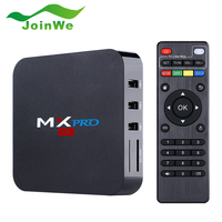 New Arrival MX Pro Android 5.1 OS Android TV Box Amlogic S905 A9 Quad Core 1G/8GB WIFI 1080P Smart TV Box Faster Than CS918