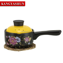 Wholesale Ceramic Milk Pot Kitchen Cooking Soup Pot Milk Boiling Pot