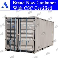 Steel 20 feet iso container dimensions