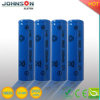 2015 High capacity lir 18650 cylindrical battery 18650 battery pack for electric vehicle 18650 battery