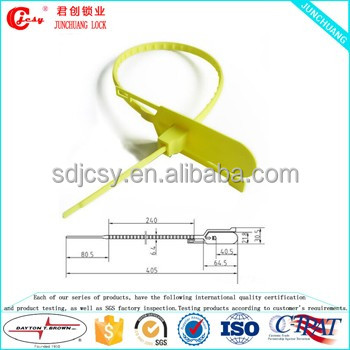 OEM Various Colors Available Pull Tight Food Plastic Seal