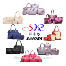 BA002 Online Shopping Handbags Women Fashion Bags Ladies Handbag Sets Designer Handbag OEM Bag Made In China Supplier Guangzhou