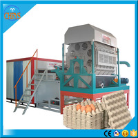 Automatic Rotary Egg Plate Machine Paper Egg Tray Making Machine