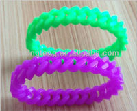silicone hollow wristband bracelet FOR PROMOTION
