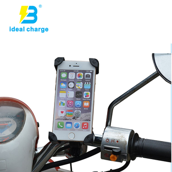 original factory usb socket for motorcycle with phone holder