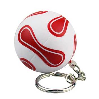 New Popular High Quality Soft Beautiful Custom Floating Keychain PU Stress reliever ball Slow rising squishy