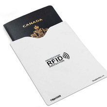 SA5 10 RFID Blocking Credit Card Sleeves With 2 Passport Sleeves In One Box