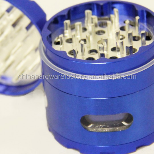 AGS1W-4PC Smoking tool manual herb grinder weed grinder