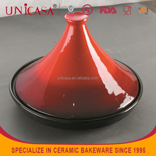 UNICASA Ceramic Cookware New Arrival High Quality Ceramic Tagine pot