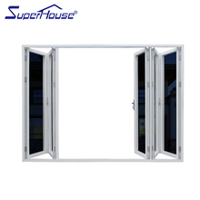 Australia AS2047,AS2208,AS1288 standard pvc folding door door to door accordion door