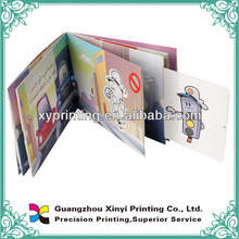 Children toy books printing with extract PVC card
