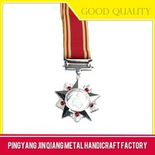 Wholesale high quality useful metal star pin badge