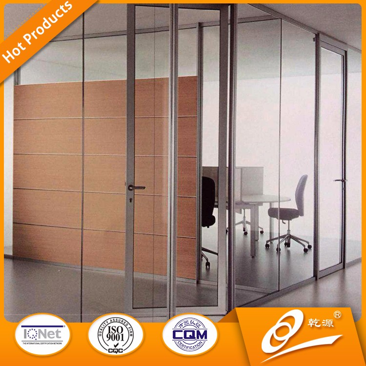 safety glass room divider partition walls