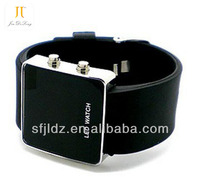 New fashional led silicon cheap watch phone