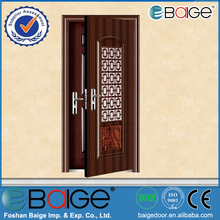 BG-S9021 Double Swing Ready Made Steel Doors and Windows