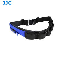 JJC Polyester and 3D breathable mesh Utility Photography Waist Strap Belt with D-rings for Hanging Tripod Camera Case Lens Case